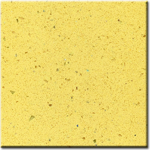 Glass Yellow Artificial Marble Engineered Stone And Quartz
