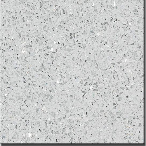 Crystal gray artificial marble engineered stone and quartz for Engineered quartz countertop colors