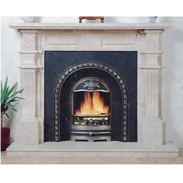 Fireplaces artificial marble engineered stone and quartz for Engineered fireplace